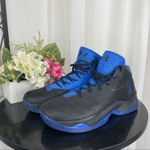 Under Armour Curry 2.5 blue-black Basketball Shoes